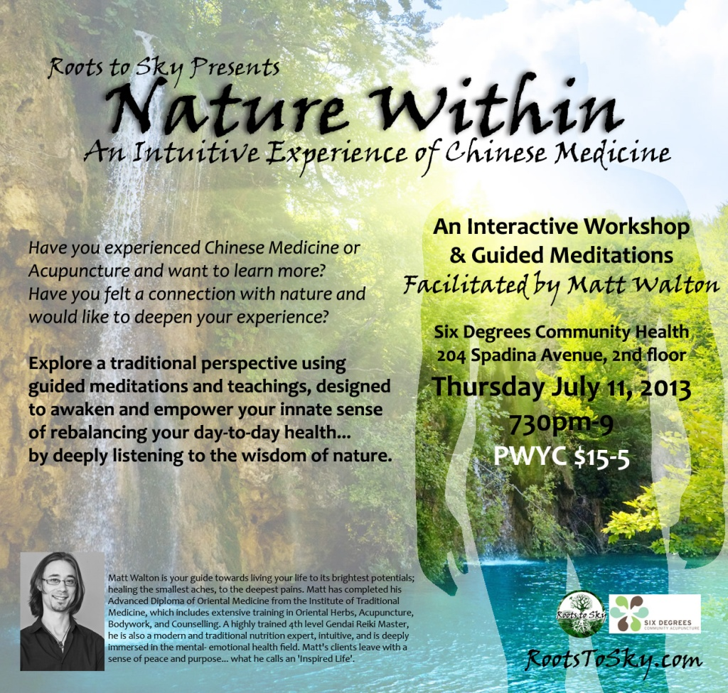 Nature Within Online Flyer